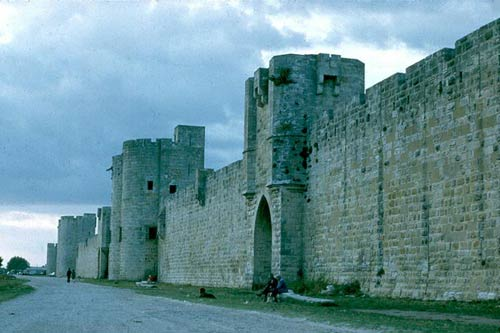 Замок Эг Морт. Chateau de Aigues Mortes