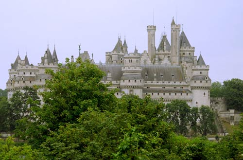 Замок Пьерфон. Chateau de Pierrefonds