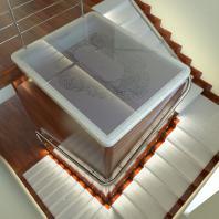 Проект интерьера 2-х уровневой квартиры. АФ-студия. Архитектор Фаткин Иван. Новосибирск