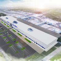 Проект реконструкции аэропорта Толмачево. Проектная организация: «АкадемСтрой»
