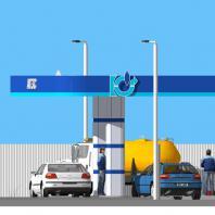 Проект АГЗС в Томске. Проектная мастерская АПМ-Сайт. Новосибирск. 2015 г.