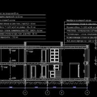 Проект индивидуального жилого дома. АПМ-Сайт. Новосибирск. Архитекторы: Бернов А.А., Хохлачева С.Г. 2017 г.
