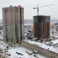 Строительство жилого комплекса «Шесть Звезд» по ул. Аникина в Новосибирске. Проектная организация: «АкадемСтрой»