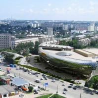 Проект торгово-развлекательного центра «Европейский» по ул. Танковая. Новосибирск. Проектная организация: «АкадемСтрой». Руководитель проекта: Турецкий Б.М. 2015 г.