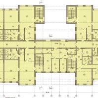 Детский сад в микрорайоне Подгорный г. Искитима Новосибирской области. План 2-го этажа | Проектирование: ООО «АкадемСтрой НСК»