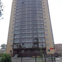 Многоэтажный жилой дом с административными помещениями. г. Бердск
