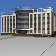 Проект здания «Центр световых технологий». Новосибирск, ул. Новая, 28. Архитектор Сергей Косинов