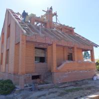Строительство коттеджа в п. Верх-Тула. Архитектор Сергей Косинов. Новосибирск