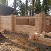 Строительство бани «Филин»